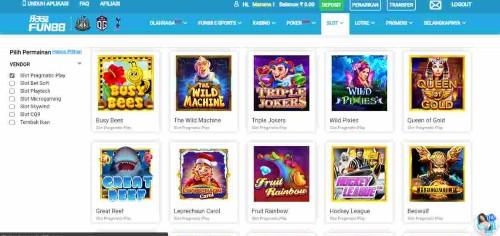 bonus khusus kasino langsung Fun88